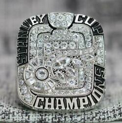Year 2008 Detroit Red Wings Stanley Cup Championship Copper Ring 8-14size