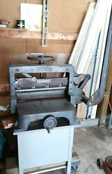 Antique Vintage Challenge Machinery Co. Manual Paper Guillotine Cutter 19 Inch