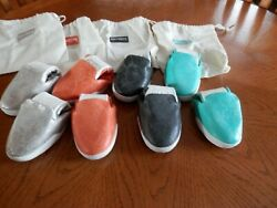 4 Pair Kruzers Foldable Stree Sneakers By Fitkicks Black Orange Silver Turquoise