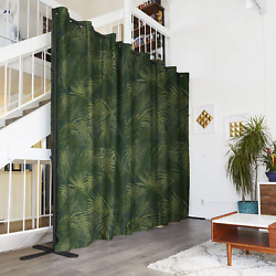 End2end Room Divider Kit - Xxx-large A, 8ft Tall X 24ft - 36ft Wide, Jungle Roo