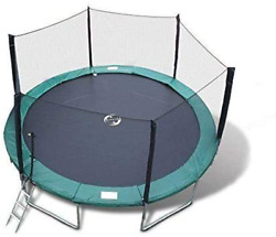 Best Trampoline Usa - Galactic Xtreme Gymnastic Round Trampoline With Safety Net