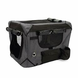 Zeus Deluxe Soft Crate For Pets With Storage Case Great For Travel And Training...