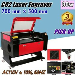 Pick-up 28 × 20 80w Co2 Laser Engraving Cutter Machine Wood And Glass Engraver