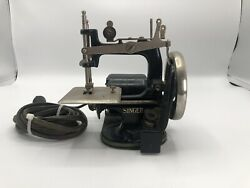 Rare Model J-1 Singer Electric Sewing Machine Small Childs