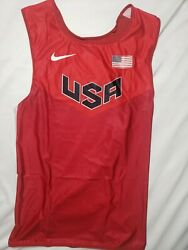 Nike Pro Elite Turbo Singlet Usa Size Large Track And Field New