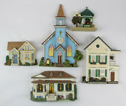 The Brian Baker Collection Wall Hanging Architectural Sculptures - 5 - W/ Boxes