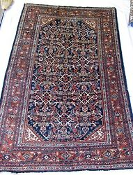 C1930 Semi Antique 6' 4 - 6' 10 X 10' 0 -10' 5 Room Size Mahal Free Shipping