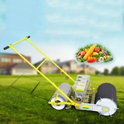 4line Hand Seeder Vegetable Carrots Spinach Rape Ginseng Cabbage Seed Plant Tool