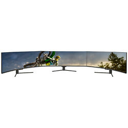 Deco Gear 43curved Ultrawide Led 3840x1200 3210 Freesync Gaming Monitor 3-pack