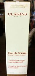 Clarins Double Serum Complete Age Control Concentrate 50ml/1.69oz - New