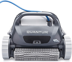 Dolphin Quantum Automatic Robotic Pool Cleaner With Extra-large Filter Basket An