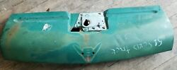 1951 1952 Ford Truck Lower Hood Latch Plate And Panel F1 F2 F3