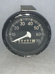 Vintage Speedometer Jeep Ford Willys Army Military K-s 40904 A-n  King-seeley