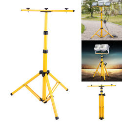Adjustable Tripod Stand T Bar For Led Flood Light Camping Construction Site Work