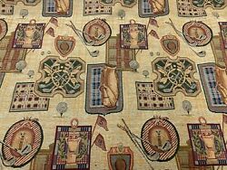 New Golf Themed Tapestry Upholstery Fabric 54quot; Width By The Yard