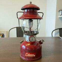 Coleman Lantern 200a Burgundy Made In December 1961 From Japan Used