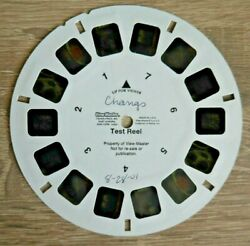 Pf Changand039s Chinese Restaurant Viewmaster Test Reel 2001 Rare Fisher-price K842