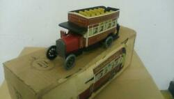 Spain Paya Tinplate Double Decker Bus Vintage Limited Edition Unused With Box