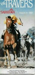 1989 Travers Stakes Program August 19th, 1989 Saratoga Easy Goer Wins