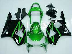 Fit For 2002 2003 Cbr954rr Candy Green Black Abs Injection Bodywork Fairing Kit