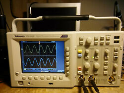 319 Hours Tektronix Tds3052c 500 Mhz 5gs/s 2 Channel Oscilloscope / Dso Fft Trg