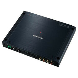 Kenwood Excelon Xr401-4 Reference Series Class D 4 Channel Power Amplifier