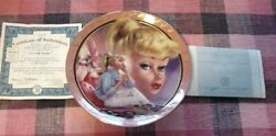 Bradford Exchange Limited Edition Girl Talk Barbie Doll Collector Plate W/coa
