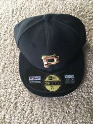 New Era Pittsburgh Pirates Size 7 1/8 5950 Fitted Hat Mlb Vintage Military Nwt