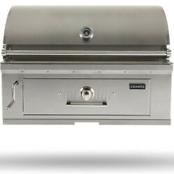 Coyote 36 Charcoal Outdoor Built-in Grill - C1ch36