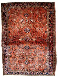 Handmade Antique Oriental Rug 3.5and039 X 5.5and039 106cm X 167cm 1920s - 1b833