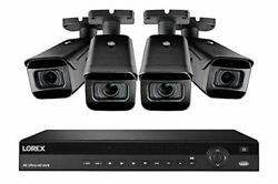 Lorex 4kfps84zm 4k Security System W/ N881a63b 16 Channel 4k 3tb Nvr And 4 Lnb92