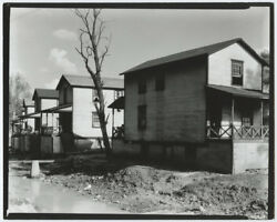 Walker Evans Company Houses For Miners West Virginia 1935 / Stamped