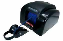 Black Marine Boat Electric Anchor Winch Up To 45lb 20kg Led Light Wireless