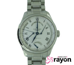 Longines L2.714.4 Master Collection Stainless Steel Automatic Menand039s Watch U0810