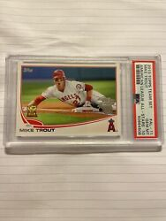 2013 Topps Team Set Mike Trout American League All-stars Al-11 Psa 10 Qty