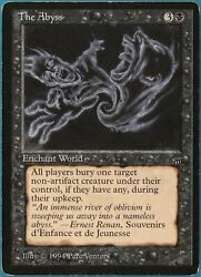 The Abyss Legends Pld Black Rare Magic The Gathering Card Id 245000 Abugames