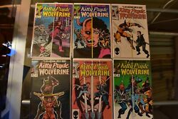 Kitty Pryde And Wolverine 1-6 Complete Marvel Comics Set 1984 X-men Claremont