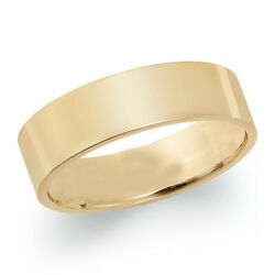 6mm Wedding Band In 18k Yellow Gold Christmas Special