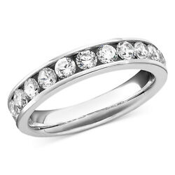 1 Ctw Diamond Band Ring In 14k Gold Or White Gold Christmas Special
