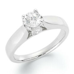 3/4 Ctw Diamond Engagement Ring In 14k White Gold Christmas Special