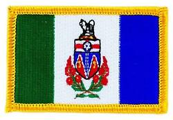 Patch Embroidered Patch Flag Yukon Flag Thermoadhesive Canada