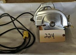 Vintage Porter Cable Model 66 Electric Circular Saw 6 1/2