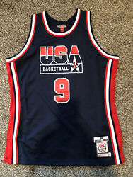 Michael Jordan Mitchell And Ness Jersey 1992 Olympic Games. Dream Team Size Xl-48