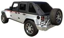 Soft Top-unlimited X Rampage 109835 Fits 10-11 Jeep Wrangler