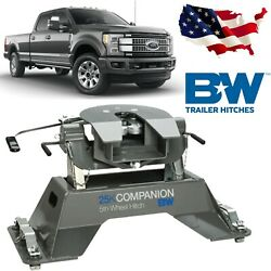 Bandw Trailer Hitches Rvk3305 Companion 5th Wheel Rv Hitch For Ford Oem Puck