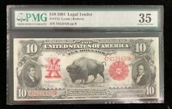 Ccandc 10 1901 - Bison United States Note - 34124426 - Ships Free