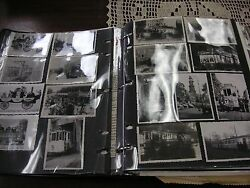 Vintage Historical Scrapbook Of Bus And Street Cars Around The World - Sold As/is