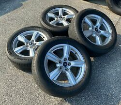 Set Of Four Used Oem 17 Ford Mustang Takeoff Tires And Wheels Fr3c-1007-aa