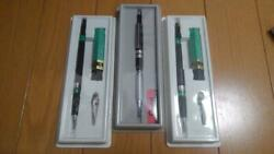 Pentel 3 Pcs Mechanical Pencil Design And Drafting Instruments With Case Unused