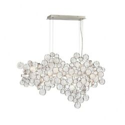 Eurofase Lighting - Trento Oval Chandelier 12 Light - 10.5 Inches Wide By 24